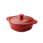 Aroma DoveWare Red 2.5 Quart Covered Stewpot