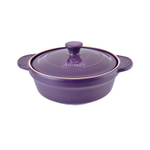 Aroma DoveWare Purple 2.5 Quart Covered Stewpot
