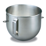 KitchenAid K5ASBP Polished Stainless Steel 5 Quart Mixing Bowl with Handle for Bowl Lift Stand Mixers