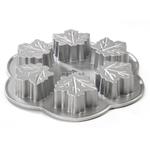 Nordic Ware Platinum Bakeware Maple Leaf Cakelet Pan