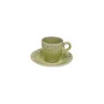 Costa Nova Madeira Lemon Coffee Cup and Saucer, Set of 6