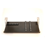 The Drop Block Black 24 x 9.5 Inch Under Cabinet Knife Block