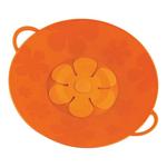 Kuhn Rikon Kochblume Orange Silicone Spill Stopper Pot Lid