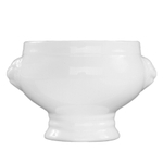Fortessa Fortaluxe SuperWhite China 14.5 Ounce Tete De Lion Tureen