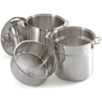 All-Clad Stainless Steel Multi Cooker With Steamer Baskets