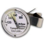 Taylor Stainless Cappucino Milk Frothing Thermometer