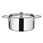 ScanPan Maitre D' Steel Stainless Steel 1.6 Quart Mini Dutch Oven with Lid