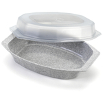 Nordic Ware Microwave 3.5 Cup Casserole Storage Dish with Cover