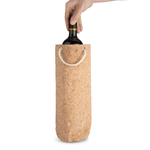 Final Touch Reusable Cork Wine Bottle Bag
