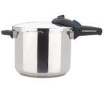 Zavor ZPot Stainless Steel 10 Quart Pressure Cooker with Cookbook