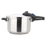 Zavor ZPot Stainless Steel 6.3 Quart Pressure Cooker with Cookbook