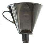 RSVP Plastic 6.25 Inch Coffee and Tea Filter Cone