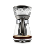 De'Longhi Silver Metallic 3-in-1 Dual Master Brewer with Pour Over