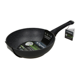 Tognana Sphera Black Aluminum 11-Inch Wok