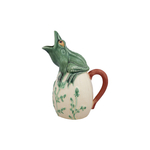Bordallo Pinheiro Frog Earthenware Pitcher