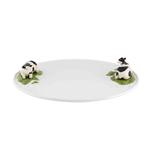 Bordallo Pinheiro Meadow Earthenware 16 Inch Round Cheese Tray