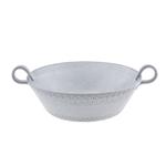 Bordallo Pinheiro Rua Nova Antique White Earthenware Salad Bowl