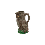 Bordallo Pinheiro Owl Earthenware Pitcher