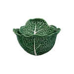 Bordallo Pinheiro Cabbage Earthenware 3 Liter Soup Tureen