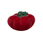 Bordallo Pinheiro Tomato Earthenware 4.5 Liter Soup Tureen