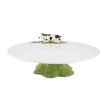 Bordallo Pinheiro Meadow Earthenware Footed Cheese Tray