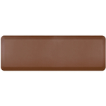 WellnessMats Brown Standard Anti-Fatigue Mat, 6 x 2 Foot
