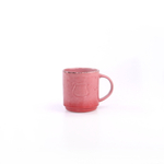 Foodesign Colors of Italy Red Stoneware Mug, Set of 4