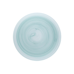 D&V La Jolla Sage Green Glass Service Plate, Set of 4