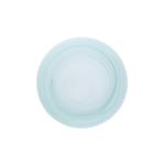 D&V La Jolla Sage Green Glass Dinner Plate, Set of 4