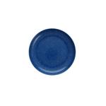 Fortessa Camp Blue Melamine Round Coupe Plate, Set of 6