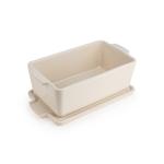 Peugeot Saveurs Appolia Creme Ceramic 24.5 Ounce Rectangular Terrine Baking Dish