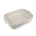Peugeot Appolia Creme Ceramic 5.5 Quart Rectangular Baking Dish