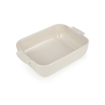 Peugeot Appolia Creme Ceramic 1.5 Quart Rectangular Baking Dish