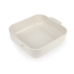 Peugeot Appolia Creme Ceramic 2.2 Quart Square Baking Dish