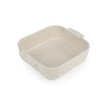 Peugeot Appolia Creme Ceramic 1.2 Quart Square Baking Dish