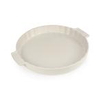 Peugeot Saveurs Appolia Creme Ceramic 2.2 Quart Round Tarte Baking Dish