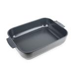 Peugeot Appolia Slate Ceramic 5.5 Quart Rectangular Baking Dish