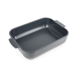 Peugeot Appolia Slate Ceramic 2.9 Quart Rectangular Baking Dish