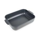 Peugeot Appolia Slate Ceramic 2.9 Quart Rectangular Baking Dish