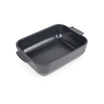 Peugeot Appolia Slate Gray Ceramic 1.5 Quart Rectangular Baking Dish