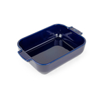 Peugeot Appolia Blue Ceramic 1.5 Quart Rectangular Baking Dish