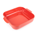 Peugeot Appolia Red Ceramic 4 Quart Square Baking Dish