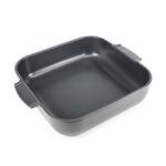 Peugeot Appolia Slate Ceramic 4 Quart Square Baking Dish
