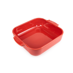 Peugeot Appolia Red Ceramic 2.2 Quart Square Baking Dish
