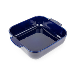 Peugeot Appolia Blue Ceramic 2.2 Quart Square Baking Dish