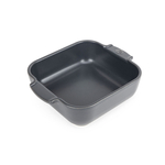 Peugeot Appolia Slate Gray Ceramic 1.2 Quart Square Baking Dish