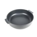 Peugeot Appolia Slate Ceramic 4 Quart Round Baking Dish