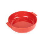 Peugeot Saveurs Appolia Red Ceramic 2.2 Quart Round Baking Dish