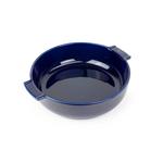 Peugeot Saveurs Appolia Blue Ceramic 2.2 Quart Round Baking Dish
