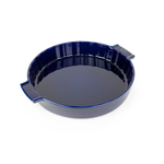 Peugeot Saveurs Appolia Blue Ceramic 2.3 Quart Round Meat Pie Baking Dish